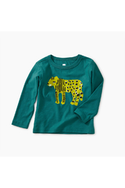 Tea Collection Liger Graphic Baby Tee - Front cropped