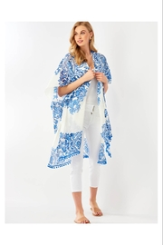 Giftcraft Inc.  Delft Blue Printed Kimono - Product Mini Image