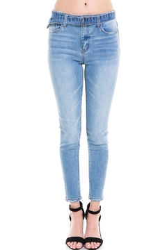 Vervet Light Belted Jeans - Product List Image