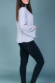 Lush Light Blue Blouse - Side cropped