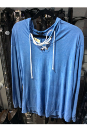 T Party Light Blue Soft Hoodie - Product Mini Image