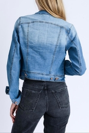 Love Tree Light Denim Jacket - Front full body