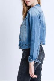 Love Tree Light Denim Jacket - Side cropped