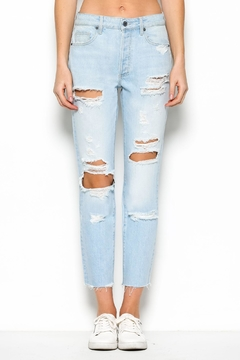 Hidden Jeans Light Distressed Jeans - Product List Image