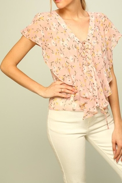 Shoptiques Product: Light Floral Blouse