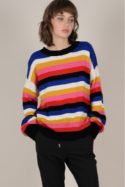 Molly Bracken Light Knit Rainbow Sweater - Product Mini Image