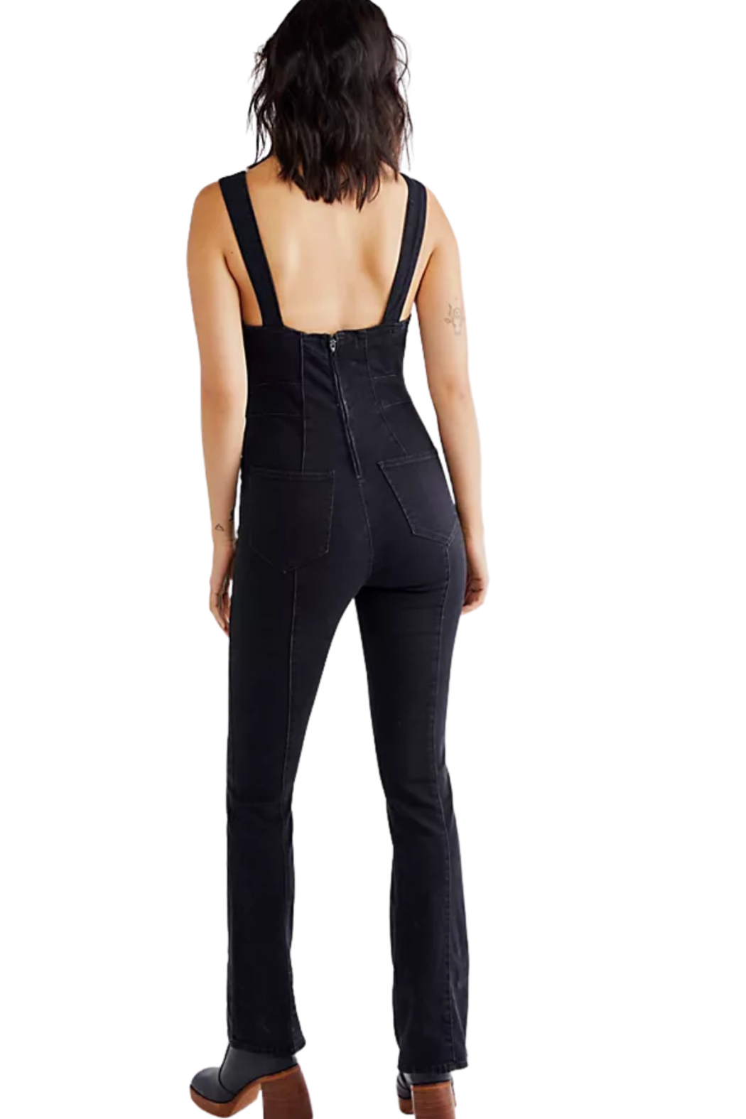 Free People  Light My Fire Jumpsuit - Side Cropped Image