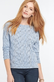 Nic + Zoe Light Sky Blue Sweater - Product Mini Image