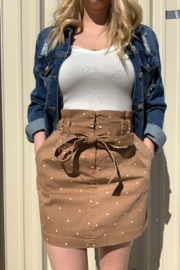 blu Pepper  Light Up The World Skirt - Front cropped