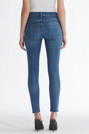 Hudson Jeans Light-Wash Ripped-Knee Ankle-Skinny - Back cropped