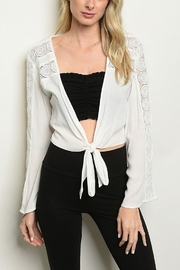 Lyn -Maree's Light Weight Cardi - Front cropped