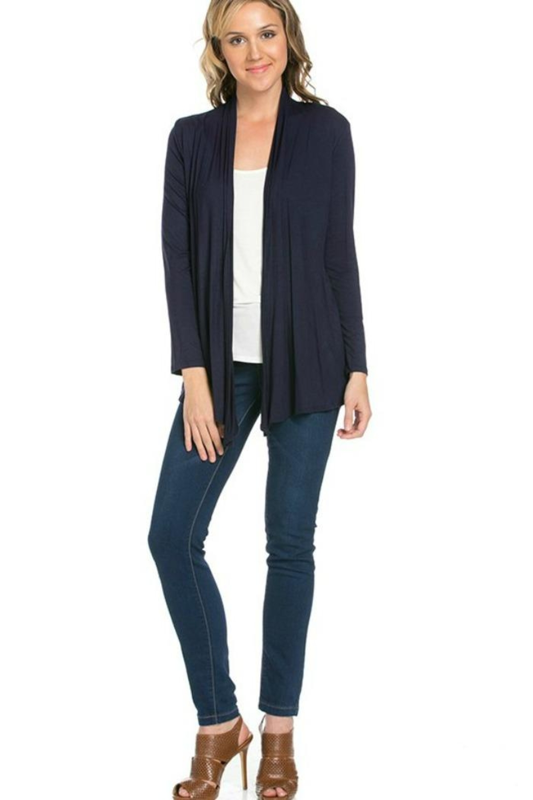 Azules Light Weight Cardigan - Front Full Image