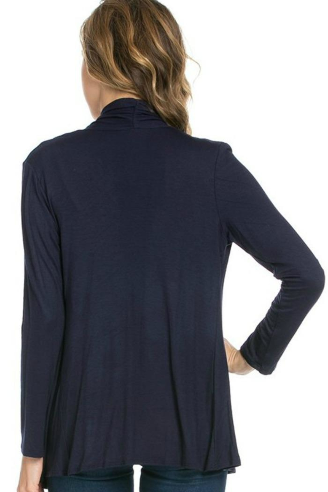 Azules Light Weight Cardigan - Side Cropped Image
