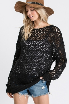 Ces Femme Light Weight Sheer Sweater - Product List Image