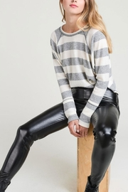 Le Lis Light-Weight Striped Sweater - Product Mini Image