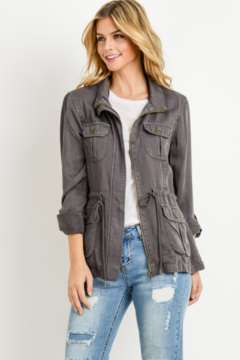 Cest Toi Light Weight Utility Jacket - Product List Image