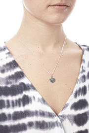 Light Years Collection Compass Necklace - Back cropped