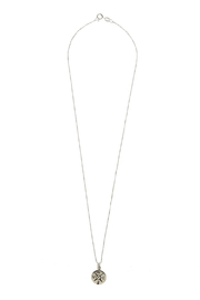 Light Years Collection Compass Necklace - Front cropped