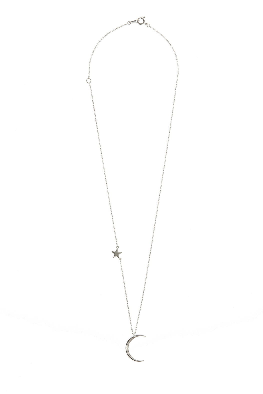 Light Years Collection Crescent Moon Necklace - Main Image