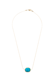 Light Years Collection Faceted Stone Necklace - Product Mini Image