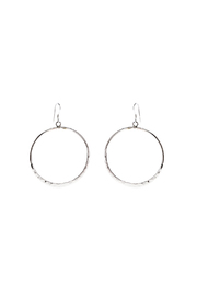 Light Years Collection Hammered Circle Dangle - Product Mini Image