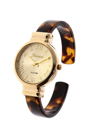 Light Years Collection Tortoise Shell Watch - Product Mini Image