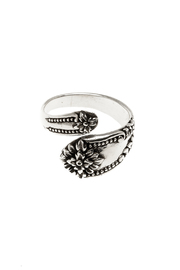 Light Years Jewelry Victorian Spoon Ring - Front cropped