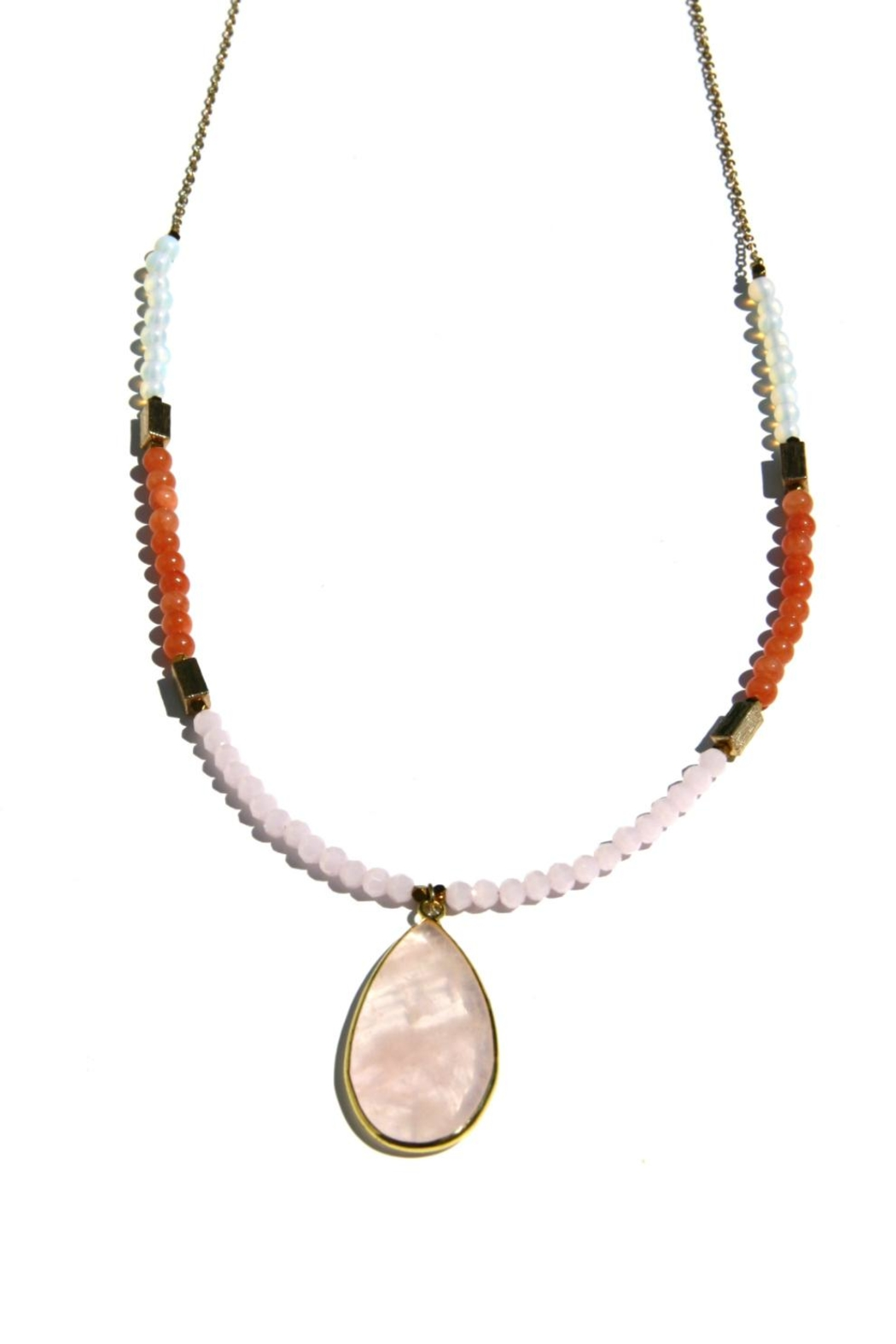 Light Years Collection Adjustable Beaded Necklace - Main Image