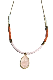Light Years Collection Adjustable Beaded Necklace - Front cropped