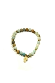 Light Years Collection Amazonite Hamsa Bracelet - Product Mini Image