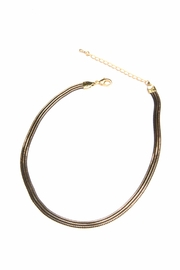 Light Years Collection Black & Gold Choker - Product Mini Image