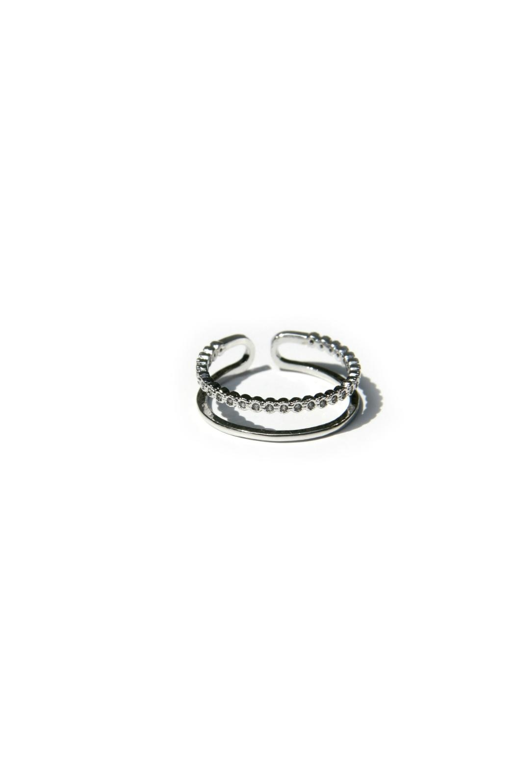 Light Years Collection Cz & Band Ring - Main Image