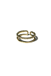 Light Years Collection Cz & Band Ring - Front cropped