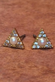 Light Years Collection Cz & Pearl Posts - Product Mini Image