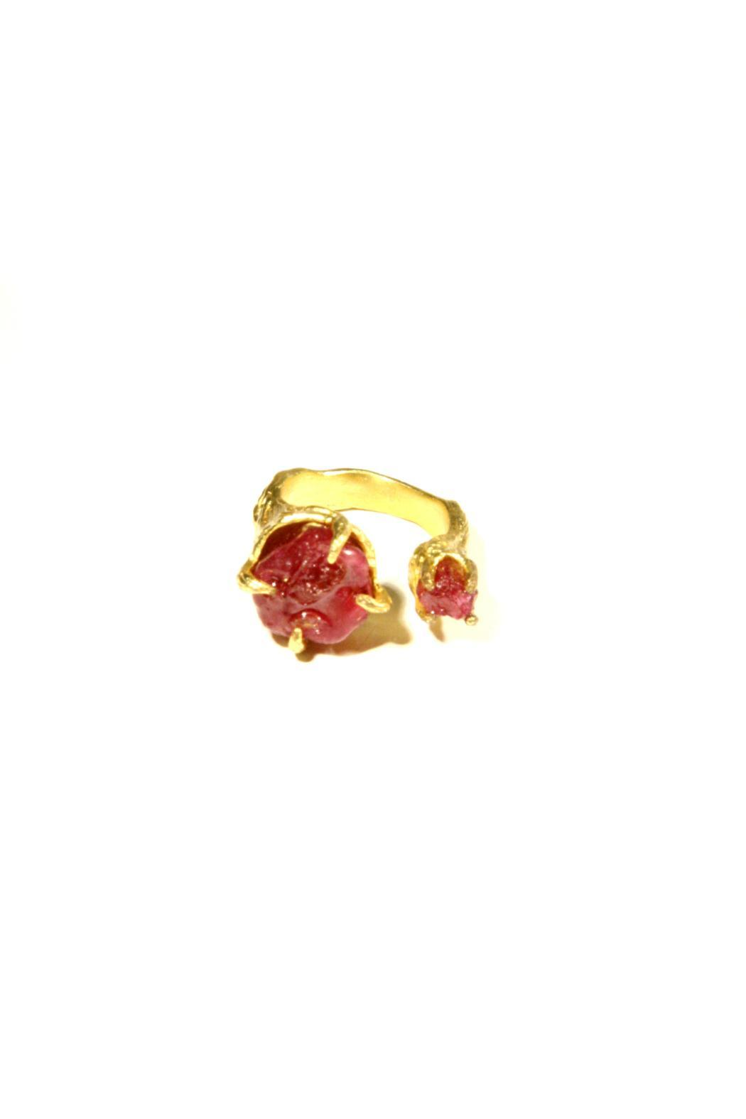 Light Years Collection Gold & Stone Ring - Front Cropped Image
