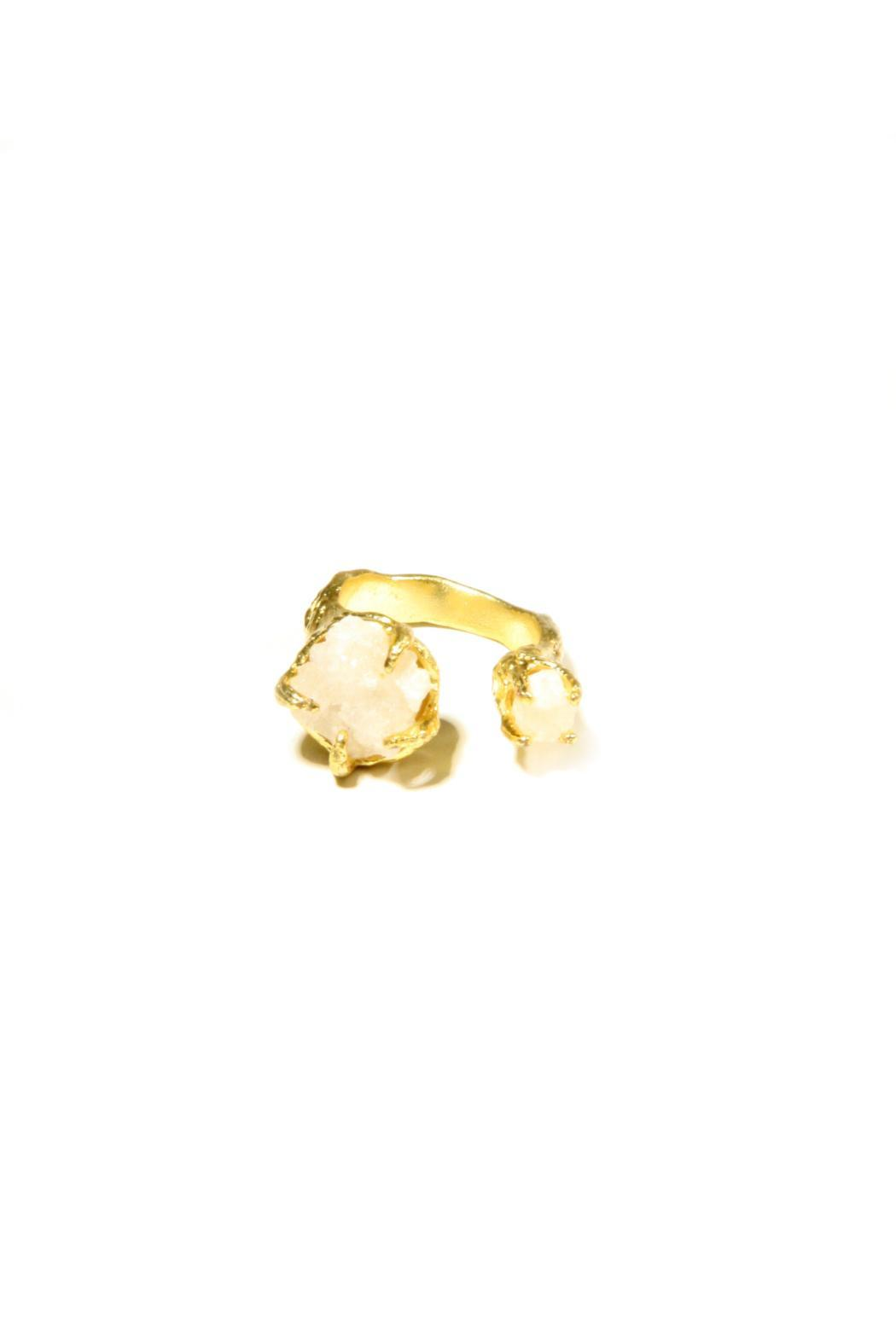 Light Years Collection Gold & Stone Ring - Side Cropped Image