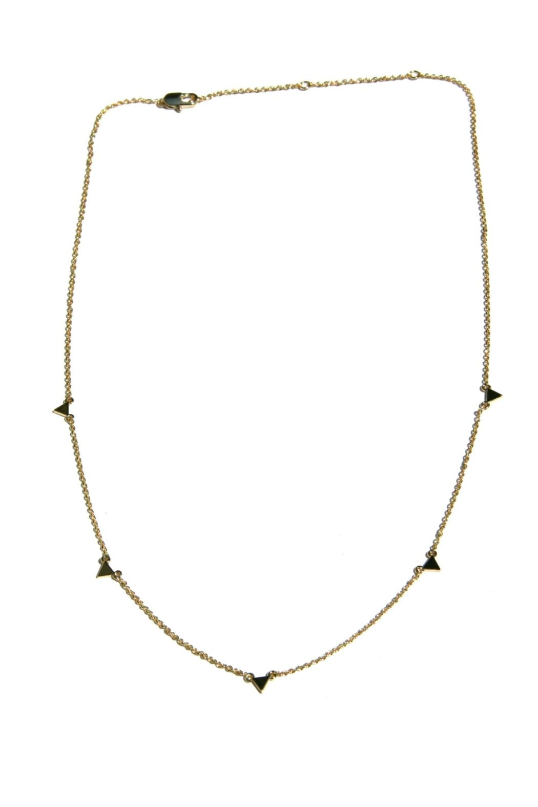 Light Years Collection Floating Triangle Necklace - Main Image