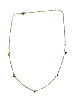 Shoptiques Product: Floating Triangle Necklace