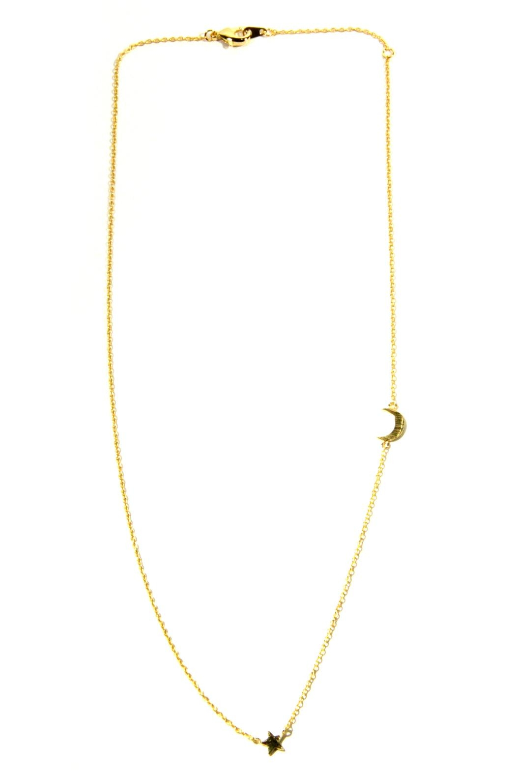 Light Years Collection Gold Celestial Necklace - Main Image