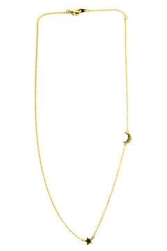 Light Years Collection Gold Celestial Necklace - Alternate List Image