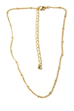 Light Years Collection Gold Chain Choker - Alternate List Image