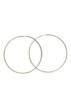 Light Years Collection Gold Endless Hoops - Alternate List Image