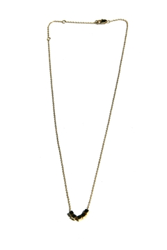 Light Years Collection Golden Cubes Necklace - Alternate List Image