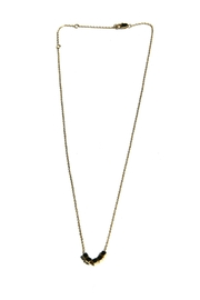 Light Years Collection Golden Cubes Necklace - Front full body