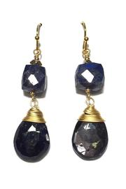 Light Years Collection Handcrafted Stone Earrings - Product Mini Image