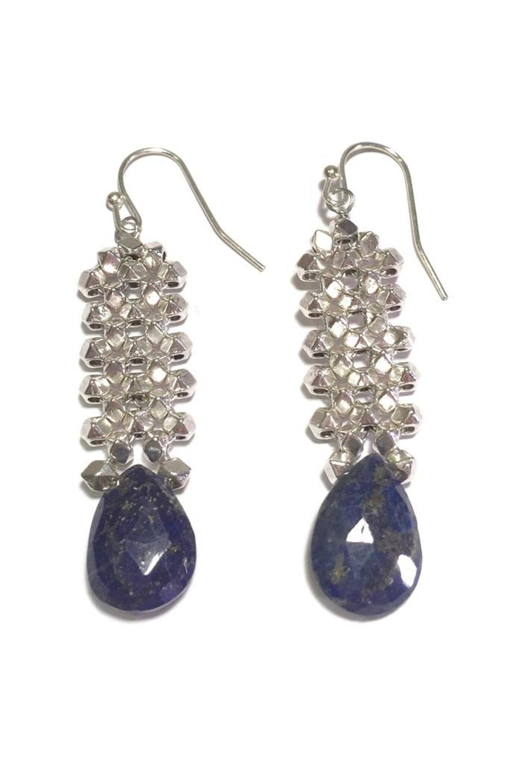 Light Years Collection Lapis Lazuli Earring - Main Image