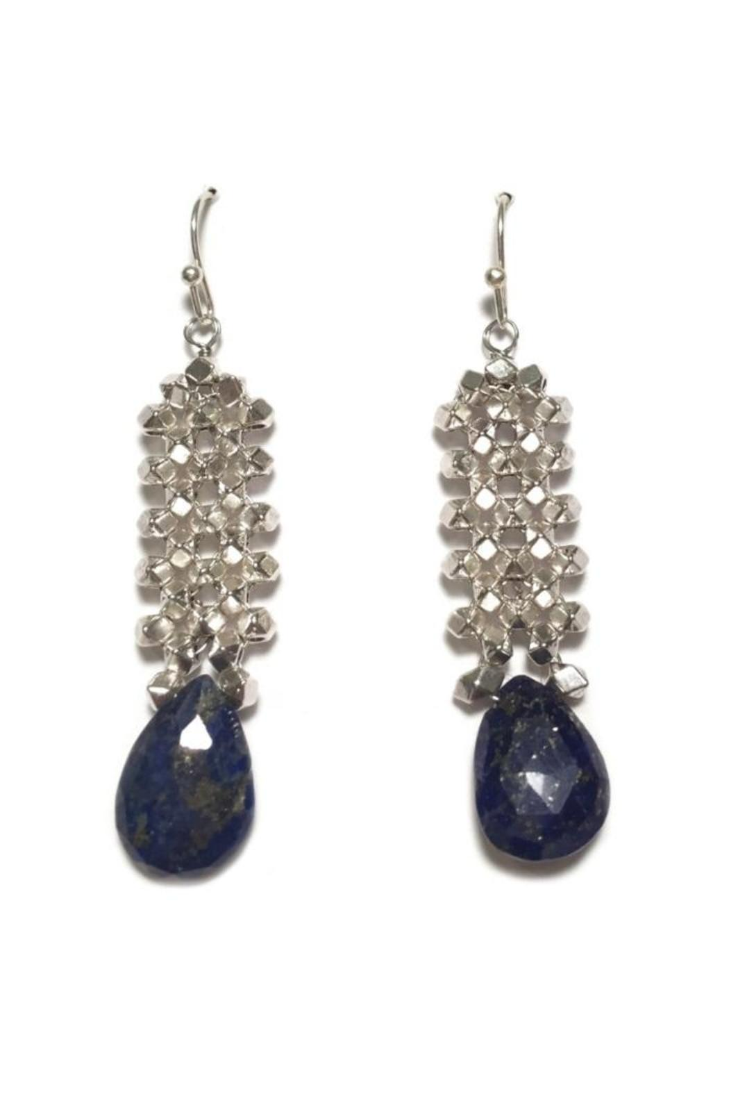 Light Years Collection Lapis Lazuli Earring - Front Full Image