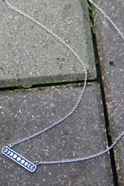 Light Years Collection Moon Phase Necklace - Front full body