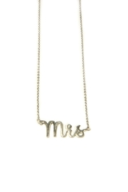 Light Years Collection Mrs Necklace - Front cropped