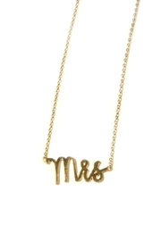 Light Years Collection Mrs Necklace - Front full body